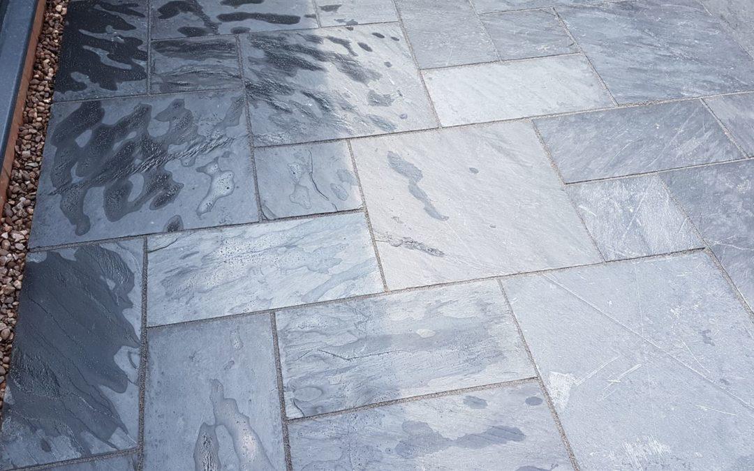 Slate paving Warwick