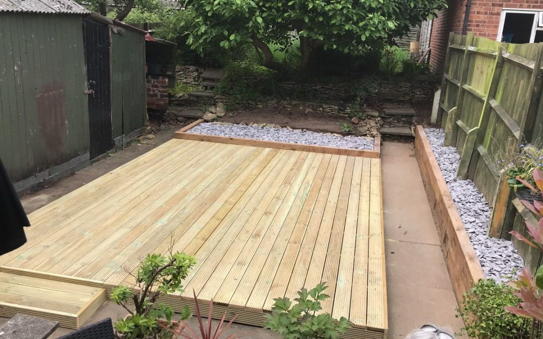 Clearance and decking coundon
